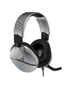 Turtle Beach Recon 70 Silver Gaming Headset - PS4, PS5, Nintendo Switch, Xbox One & PC (New)