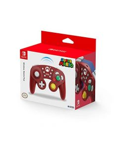 HORI Wireless Battle Pad GameCube Style Controller for Super Smash Bros. (Mario) (Switch) (New)