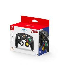 HORI Wireless Battle Pad GameCube Style Controller for Super Smash Bros. (Zelda) (Switch) (New)