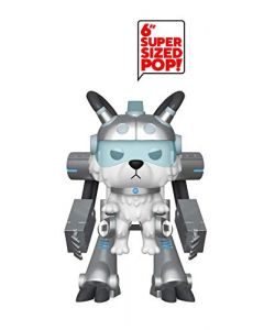 "Funko 40249 POP Animation: Rick and Morty-Exoskeleton Snowball 6"" Collectible Figure, Multicolor (New)"