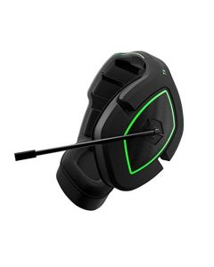 Gioteck TX50 Headphones with 3.5 mm Jack and Switch for PS5 Xbox Series X and PC (Black and Green) (New)