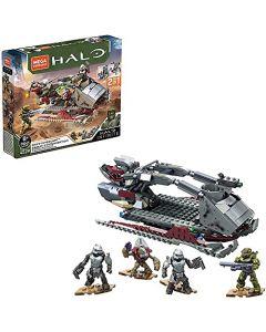 Mega Construx Halo Multicolour Infinite Vehicle - Skiff Intercept Toy (New)