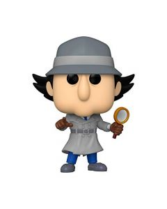 Funko 49268 POP Animation Inspector Gadget w/Chase (Styles May Vary) Collectible Toy, Multicolour (New)