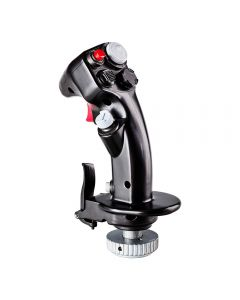 F-16C Viper Hotas Add-On Grip - Versatile Replica Fighter Aircraft Flight Stick for Flight Games and Simulations (Electronic Games) (New)