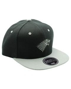 ABYstyle - Game of Thrones - Stark Snapback Cap - Black and Gey - One Size (New)