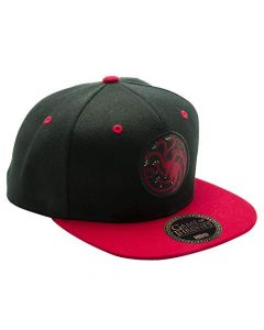 ABYstyle - Game of Thrones - Targaryen Snapback Cap - Black and Red - One Size (New)