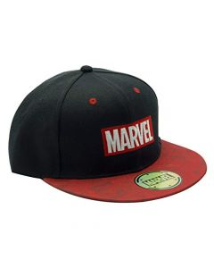 ABYstyle - Marvel - Snapback Cap - Logo - Black and red (New)