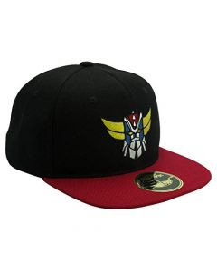 ABYstyle Grendizer Snapback Cap Goldorak Black and Red (New)