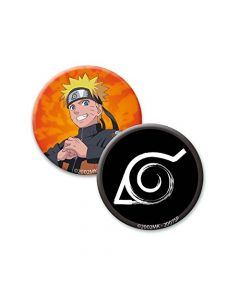 ABYstyle Naruto Shippuden Mug with Keyring and Brooches ABYPCK092 (New)