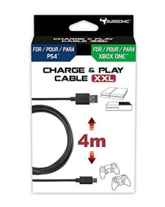 Subsonic Play & Charge Cable XXL (PS4 / Xbox One) (New)