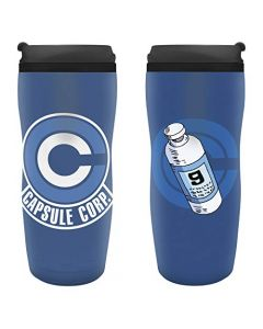 ABYstyle - Dragon Ball - Travel Mug - Capsule Corp (New)