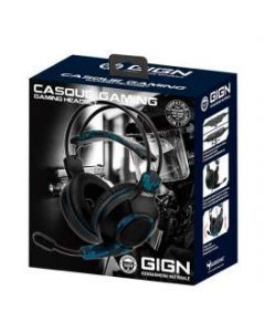 Subsonic GIGN Gaming Headset - Black (PS4) (New)