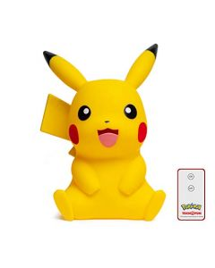 TEKNOFUN 811356 pokemon,pikachu Lamp,Figurine, Yellow, 40 cm (New)