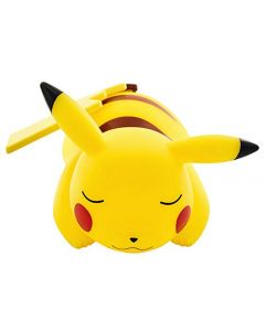 Pokémon 811360 Sleeping Pikachu Light-up Figurine-25cm, Yellow (New)