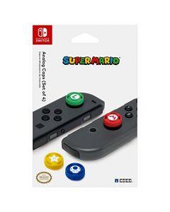 HORI Nintendo Switch Super Mario Analog Caps (Nintendo Switch) (New)