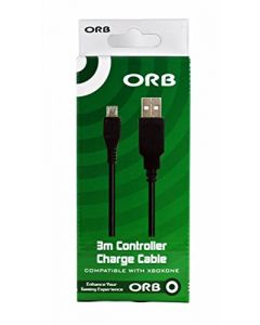 ORB 3m Controller Charge Cable Xbox One (New)