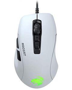 Roccat Kone Pure Ultra - Light Ergonomic Gaming Mouse (16000 Dpi Optical Sensor RGB Lighting Ultra Light) White (New)