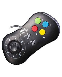 NEOGEO Mini Console Official Control Pad: Black (NEOGEO Mini) (New)