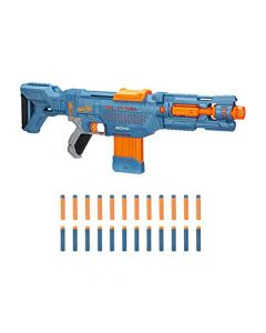 Nerf Elite 2.0 Echo CS-10 Blaster – 24 Official Nerf Darts, 10-Dart Clip, Removable Stock and Barrel Extension, 4 Tactical Rails (New)