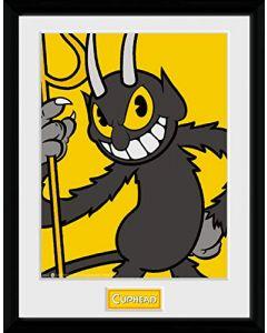 Cuphead Framed Print - The Devil (New)