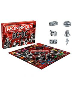 Winning Moves ACDC Monopoly Board Game (New)