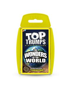 Wonders of the World Top Trumps Card Game (New)