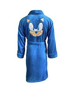 Sonic the Hedgehog Class of '91 Blue Robe Full Length Adult Bathrobe (New) (New)