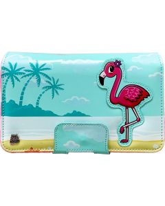 Flamingo - 2DS XL Open and Play Protective Carry Case (Nintendo 2DS XL) (New)