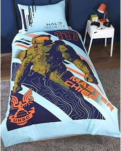 Halo Master Chief Double Duvet Cover Set (New)