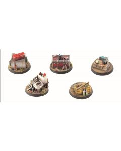 Fallout - Wasteland Warfare - Terrain Exp. Objective Markers 1 (New)