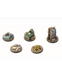 Fallout - Wasteland Warfare - Terrain Exp. Objective Markers 2 (New)
