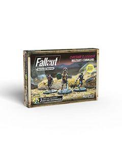 Modiphius Fallout - Wasteland Warfare - Caesar's Legion Military Command, Multicolor (New)