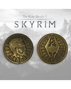 FaNaTtik The Elder Scrolls V: Skyrim Collectable Coin The Empire Is Law Coins (New)