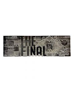 Fanattik Harry Potter Quidditch World Cup Final Silver Plated Ticket (New)