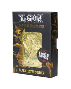 Fanattik KON-YGO25G Yu-Gi-Oh-Limited Edition 24K Gold Plated Collectible Black Luster Soldier (New) (New)
