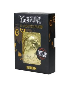 Fanattik KON-YGO27G Yu-Gi-Oh-Limited Edition 24K Gold Plated Collectible Kuriboh (New) (New)