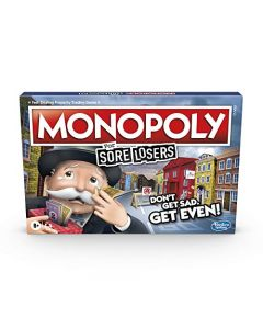Monopoly for Sore Losers Board Game for Ages 8 and up, the Game Where it Pays to Lose (New)