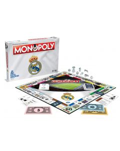 Winning Moves 034630 Real Madrid Monopoly (New)