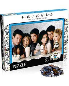 Winning Moves WM00377-ML1-6 Friends Puzzle Milkshake 1000 Pieces (New)