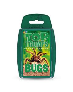 Top Trumps Bugs Card Game (New)