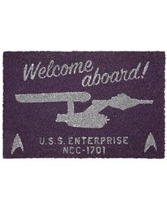 Star Trek Welcome Aboard! Unisex Door Mat multicolour, see description, (New)