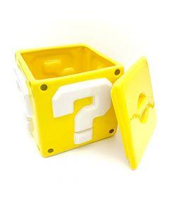 Pyramid International GP85521 Super Mario Bros Question Mark Block Ceramic Storage Jar Cookie Jar (New)