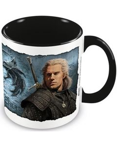 The Witcher (Bound By Fate) Black Inner C Mug /Merchandise (New)