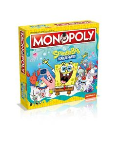Winning Moves Spongebob Squarepants Monopoly Board Game (New)