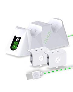 Stealth Sx-C100 X Twin Charging Dock for Xbox Series X/S - White (Xbox Series X) (New)