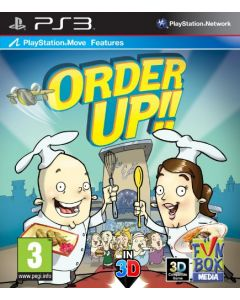 Order Up - Move compatible (PS3) (New)