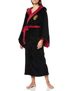 Harry Potter Gryffindor Womens Bathrobe (One Size) (New)