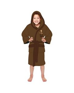 Groot Guardians of the Galaxy Marvel Brown Kids Robe Medium 7-9 years (New)