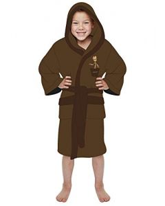 Groovy Groot Guardians of the Galaxy arvel Brown Kids Robe  (7-9 Years) (New)
