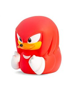 TUBBZ Sonic the Hedgehog Knuckles Collectible Rubber Duck Figurine – Official Sonic the Hedgehog Merchandise – Unique Limited Edition Collectors Vinyl Gift (New)